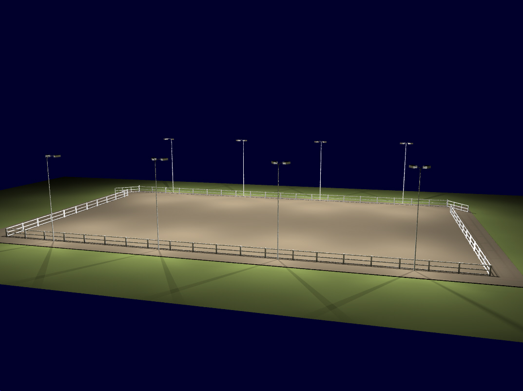 Image Gallery Outdoor Riding Arena Lighting