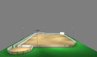 Riding Arena Ideas On Pinterest Fence Baseboards And Round Pen