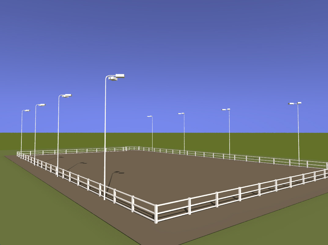 Custom horse arena lighting package mozeypictures Image collections