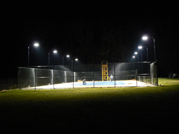 Tennis Court Lighting Gallery